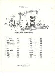 1941 1942 1946 1947 1948 pontiac nos front suspension parts guide ebay rh ebay com 1984 Pontiac Firebird Exhaust Diagram Pontiac Grand Prix Parts Diagram