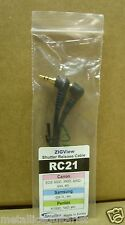Secureline - ZIGView - Shutter Release Cable RC21  for Canon - Samsung - Pentax