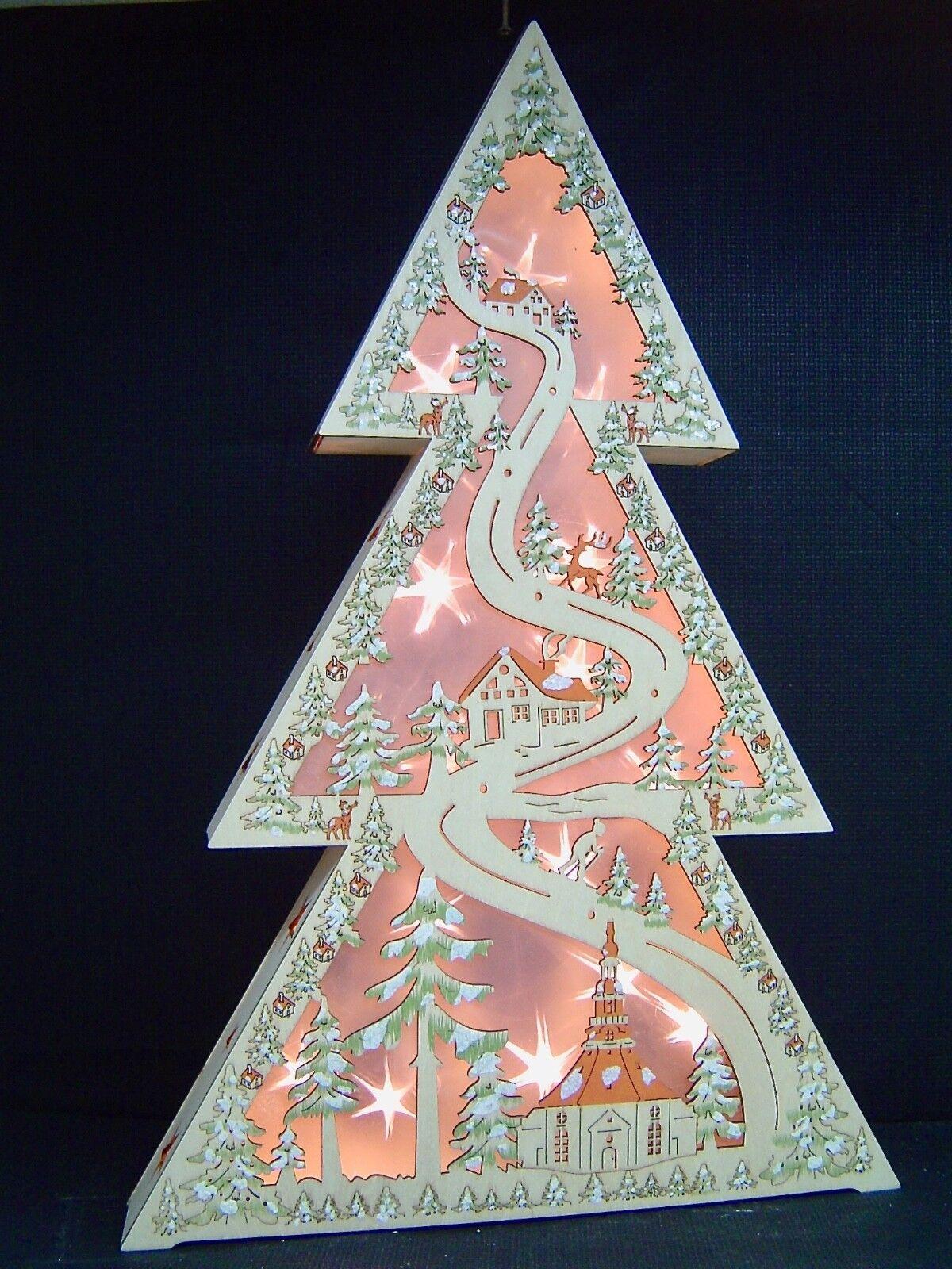 Lumières DEL Arc Schwibbogen Fenêtre Chandeliers Seiffen à la lumière Chevalier Hologramme 10274