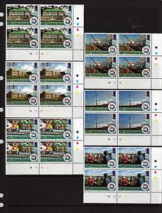 FALKLAND ISLS. 2012, 30TH ANNIVERSARY OF LIBERATION, PLATE BLOCKS, MNH