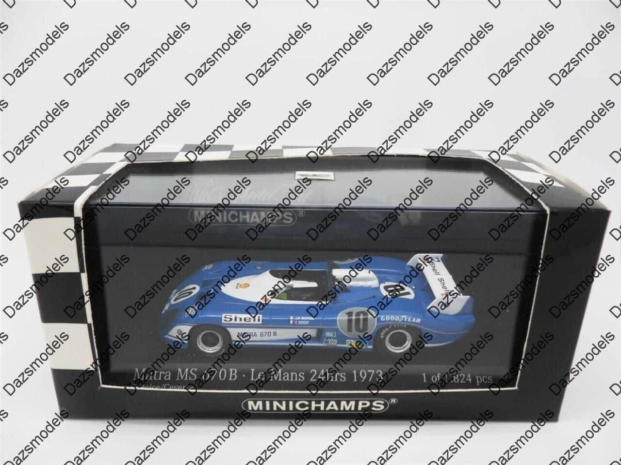 Minichamps Matra MS670 B Le mans 1973 731110
