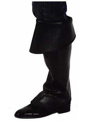 Generoso Stivali Stivali Scaldamuscoli Scaldamuscoli Gambale Scalda Pirati Cowboy Moschettiere Costume-mostra Il Titolo Originale Carattere Aromatico E Gusto Gradevole