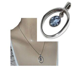 Pendentif-en-argent-massif-925-goutte-de-cristal-bleu-bijou