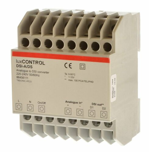Tridonic LuxCONTROL DSI-A//DS Analoger DSI Converter 86456111