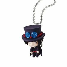 One Piece Swing Mascot PVC Keychain SD Halloween Figure ~ Portgas D. Ace @97006