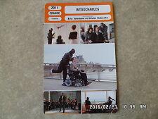 CARTE FICHE CINEMA 2011 INTOUCHABLES Francois Cluzet Omar Sy Anne Le Ny