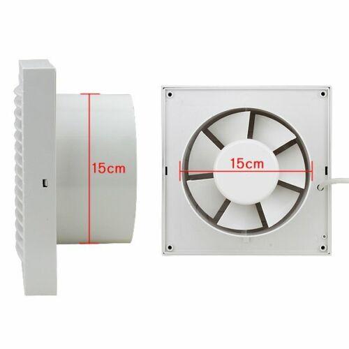 Ø100//150mm Wandventilator Abluftventilator Badlüfter Badezimmer Gebläse Hygrosta