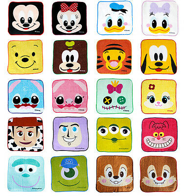 New Lot Disney mixes Square Hand Towel Face Towels Party Kids Gifts 20x20cm