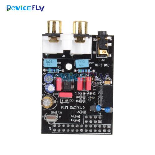 HIFI DAC Audio Sound Card Module I2S LED interface for Raspberry Pi B Pi 2 B+