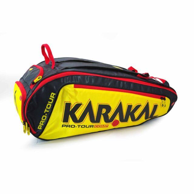 c4f08fc76d92 Karakal Pro Tour Competition 9 Racket Bag 2019 for sale online