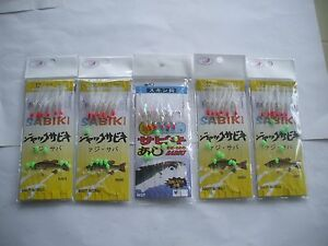 5-LIVE-BAIT-JIGS-IN-2-SIZES-4-IN-SIZE-12-AND-1-IN-SIZE-16