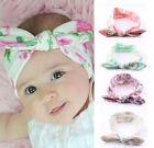4 PCS Kids Girls Baby Headband Toddler Bow Flower Hair Band Accessories Headwear