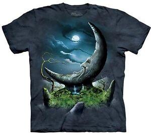 MoonStone-Shirt-Mythology-Mystical-Magic-amp-Moon-Mountain-Fantasy-Shirt
