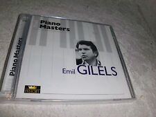 Unknown Artist - The Piano Masters-Emil Gilels CD OVP