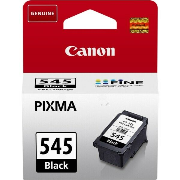 CANON PG-545 CARTUCCIA ORIGINALE NERA BLACK PER PIXMA MX495, MG2950