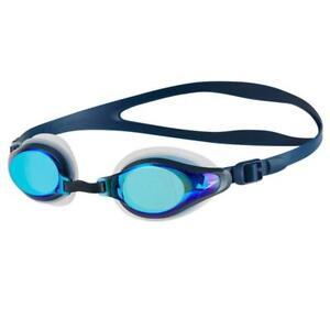 Speedo-Mariner-Supreme-Mirrored-Goggles-Blue-Clear