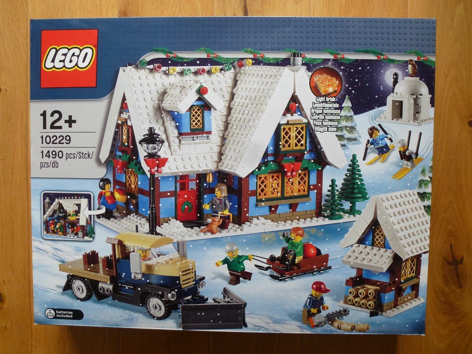 Lego Set 10229 10229 10229 Winter Village Cottage Noël neuf en boîte scellée 616c15