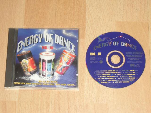 CD Energy Of Dance Volume 3  >48<