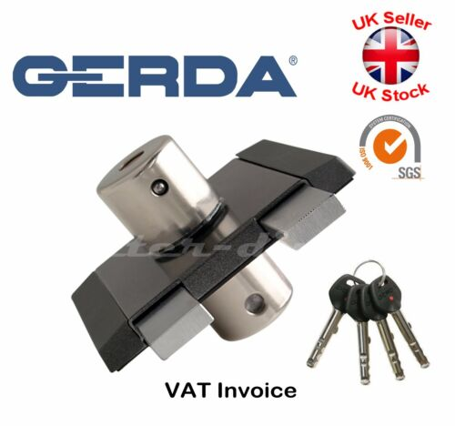 Gerda High Quality Surface Mounted Door Lock Deadlock Warehouse Office Shop ZK