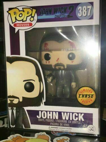 Movies #387 Vinyl Figur Funko John Wick Chapter 2 Keanu Reeves POP