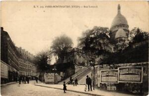 CPA-PARIS-18e-MONTMARTRE-Rue-Lamarck-539685