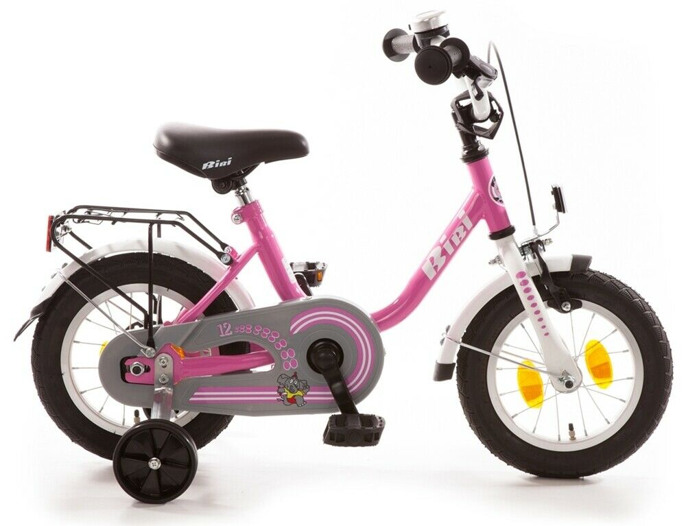Bachtenkirch BiBi 12 5  Einrohr Kinderfahrrad Kinderrad 410-BI-89 Rosa weiß
