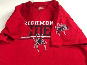 Richmond-Spiders-T-Shirt-Adult-XS-S-Student-Alumni-UR-Graduate-Cotton-Virginia
