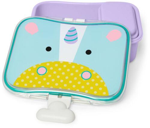 Skip Hop ZOO LITTLE KID LUNCH KIT - UNICORN Toddler Feeding Lunch Box BNIP