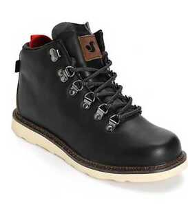 f20aeabff6a Details about NEW IN BOX MEN'S 9 10 11 11.5 DVS YODELER BLACK BROWN LEATHER  BOOTS SKATE SHOES
