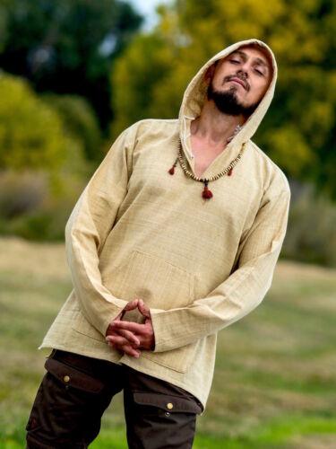 Hemp Hoodie Baja 100/% Hemp Handwoven Long Sleeve