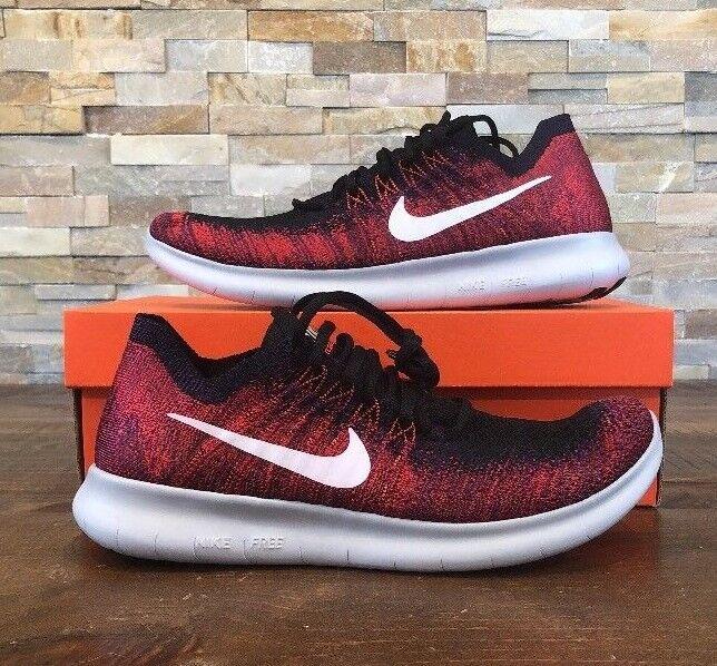Nike libera nel correre flyknit 2017, scarpe da corsa degli uomini 880843-006 al dettaglio