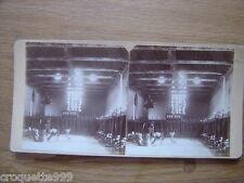 Ancienne photo stereo Ronco BEAUNE la grande salle de l hopital HOSPICES 3D