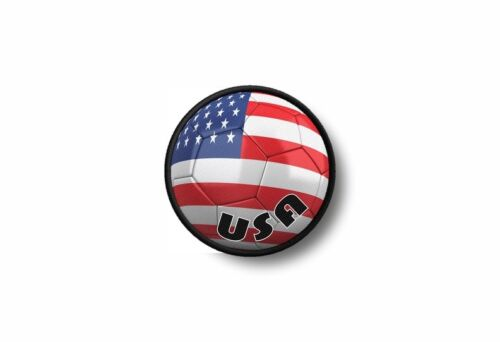 Patch badge ecusson imprime thermocollant drapeau foot usa etats unis americain