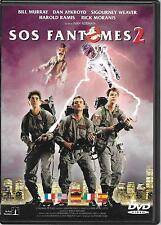 DVD ZONE 2--SOS FANTOMES 2--MURRAY/AYKROYD/WEAVER/RAMIS/MORANIS/REITMAN