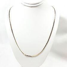 "Classic Style Neckchain Necklace Vintage Avon Gold Tone 18"" Chain Estate V418"