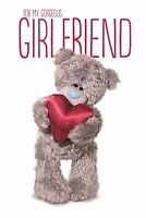 Me To You 3d For My Gorgeous Girlfriend On Your Birthday Card - Tatty Teddy