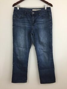 DKNY-Jeans-Women-s-Sz-6-Ankle-Jeans-Mid-Rise-Med-Wash-Straight-Leg-Stretch