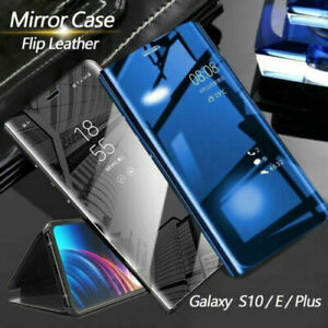 For-Samsung-S8-S9-S10-5G-Plus-S10e-Note-8-9-Smart-Mirror-View-Flip-Case-Cover