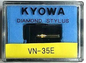 Estilete elíptico Kyowa Diamante-Cartucho de placa giratoria Aguja para SHURE VN - 35E