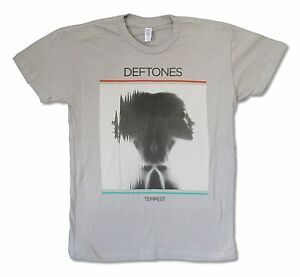 Deftones-Tempest-Grey-T-Shirt-New-Official-Band-Music