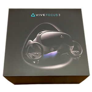 HTC Vive Focus 3 (Business VR) Stand Alone VR - 90Hz | 120 FoV | IPD