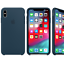 Para-Apple-iPhone-XS-Max-XR-6-7-de-8-PLUS-de-silicona-suave-cubierta-estuche-original-de-Fabricante miniatura 20