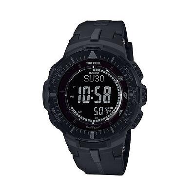 Casio Men's 56mm PRO TREK PRG300-1B Triple Sensor Ver. 3 Sports Watch - Black