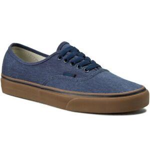 Vans-Authentic-Washed-Canvas-vegan-skate-Baskets-Bleu-Gum-KGH