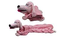 Job Lot 12 Xhug Cuddle Puppet Blanket Buddies 2in1 Snuggle Pets Pink Poodle Bear