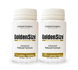 2 GoldenSize Penis Enlargement Male Enlargment Sex Pills