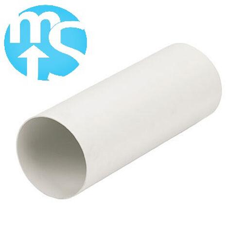 "350mm 500mm 5/"" 125mm in plastica solida canalizzazione 1000mm lunghezze *"