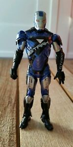 Marvel-Avengers-Iron-Man-Tony-Stark-Blue-Action-FIGURE-New-Without-Tags-OR-Box