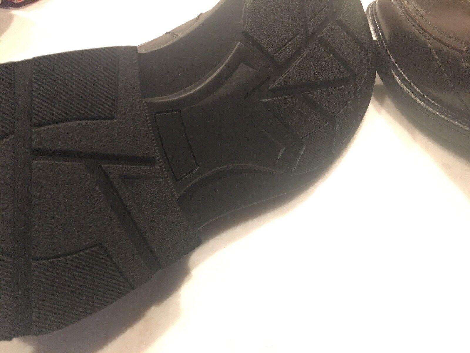 Via Europa Men's Leather Scranton braun Dress schuhe schuhe schuhe Größe 12M New With Box 8c7c25