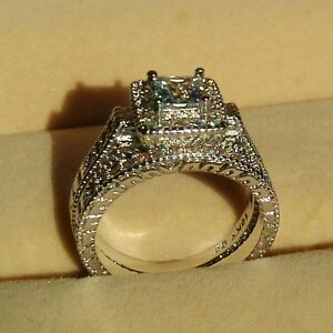 Diamonique Vintage Ring